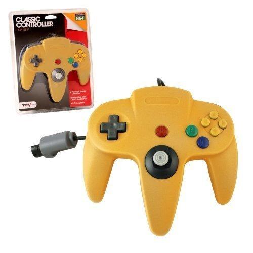 N64 Classic Controller Yellow TTX