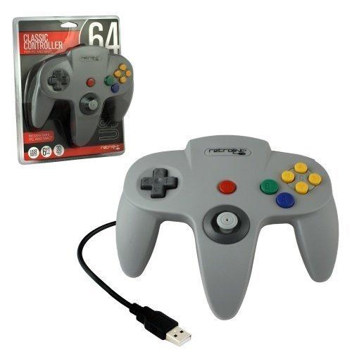 N64 Controller USB Grey Retro-Bit