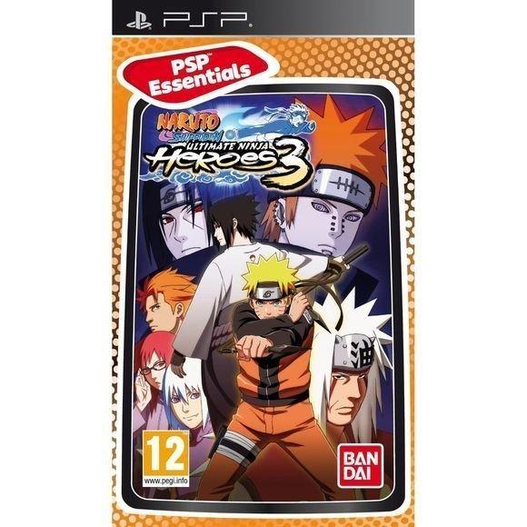 Naruto Shippuden: Ultimate Ninja Heroes 3 (Essentials)