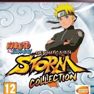 Naruto Shippuden Ultimate Ninja Storm 1+2+3 Full Burst Collection