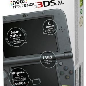 New Nintendo 3DS XL (Metal Black) EU