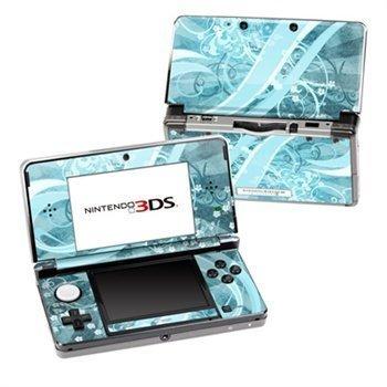 Nintendo 3DS Skin Flores Agua