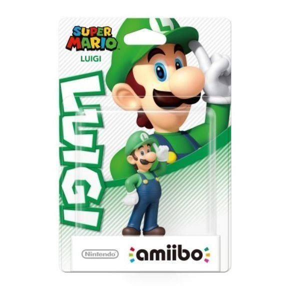 Nintendo Amiibo Figurine Luigi (Super Mario Bros. Collection)