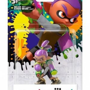 Nintendo Amiibo Figurine - Purple Boy (Splatoon Collection)
