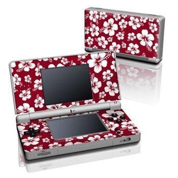 Nintendo DS Lite Skin Aloha Red