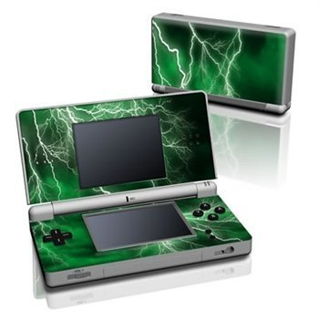Nintendo DS Lite Skin Apocalypse Green