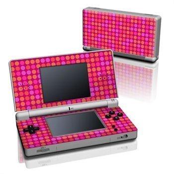 Nintendo DS Lite Skin Pink Dots