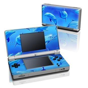 Nintendo DS Lite Skin Swimming Dolphins