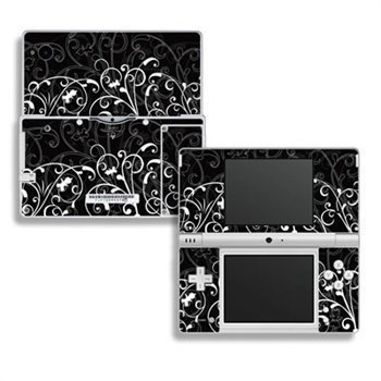 Nintendo DSi Skin B&W Fleur