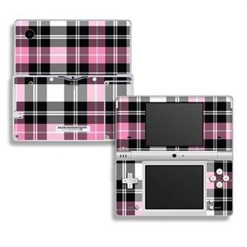 Nintendo DSi Skin Pink Plaid