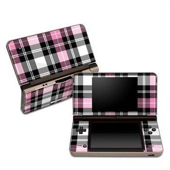 Nintendo DSi XL Skin Pink Plaid