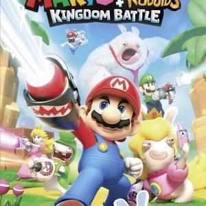 Nintendo Switch Mario + Rabbids Kingdom Battle Peli