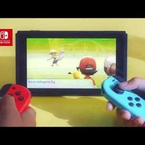 Nintendo Switch Pokémon: Let's Go Pikachu! + Poké Ball Plus Bundle Peli