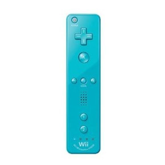 Nintendo Wii Remote Plus Controller (For Wii and Wiiu) (Blue)