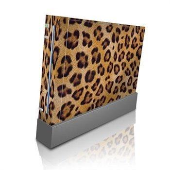 Nintendo Wii Skin Leopard Spots
