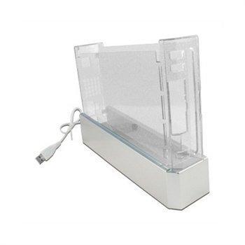 Nintendo Wii Translucent White Console Crystal Case