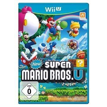Nintendo Wii U Uusi Super Mario Bros U Videopeli