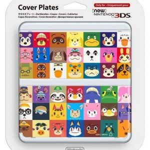 Official Cover Plate for New Nintendo 3DS - Animal Crossing HHD