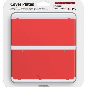 Official Cover Plate for New Nintendo 3DS - Red