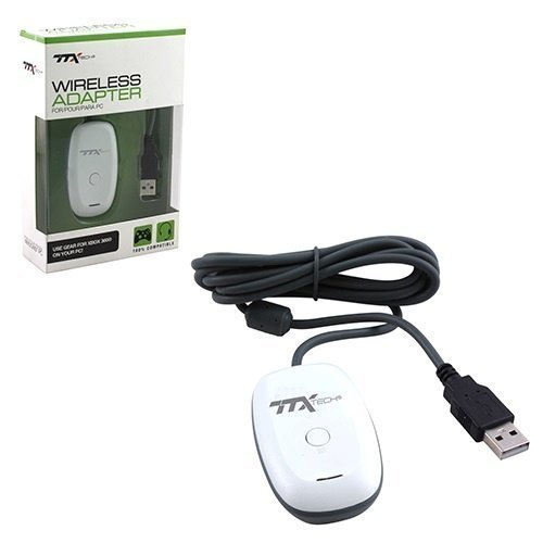 PC X360 Adapter Wireless - Gaming Receiver TTX
