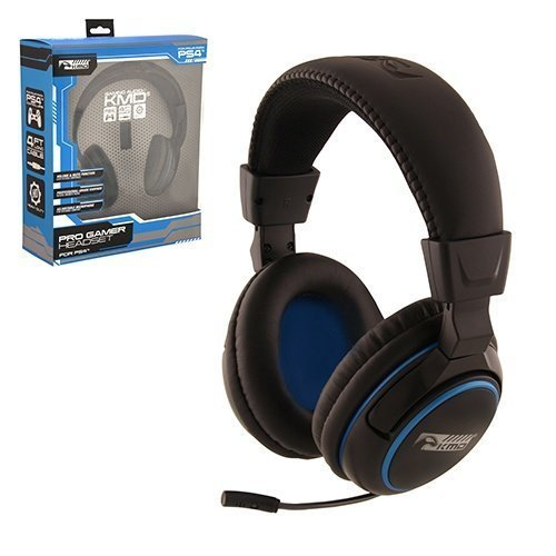 PS4 Headset Pro Gamer Headset Large Black