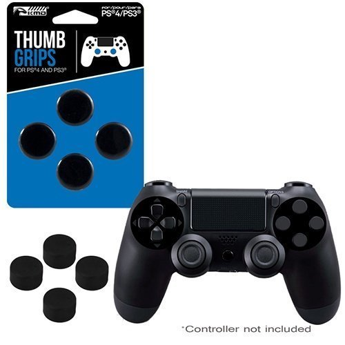 PS4 ProGamer Analog Thumb Grips - Compatible with PS3 - 4 pack