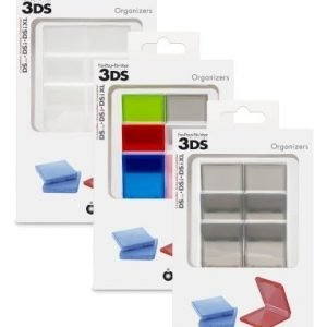 Pack of 6 organizers for 3DS