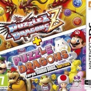 Palapeli & Dragons Z and Super Mario Bros. Edition