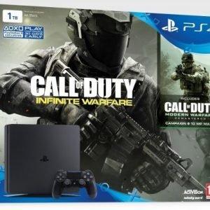 Playstation 4 1TB Slim (PS4) + COD: Infinite Warfare
