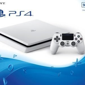 Playstation 4 500GB Slim Glacier White