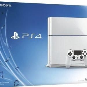 Playstation 4 500GB Valkoinen Limited Edition