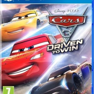 Playstation 4 Cars 3 Driven To Win Ps4 Peli