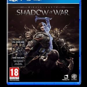 Playstation 4 Middle Earth: Shadow Of War Peli
