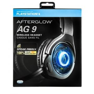 Playstation 4 Pdp Afterglow Ag9 Wireless Headset Langattomat Pelikuulokkeet Ps4