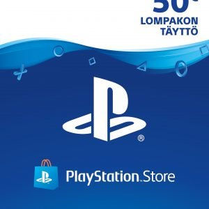 Playstation 4 Playstation Store Latausseteli 50 Euroa
