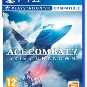 Playstation 4 Ps4 Ace Combat 7 Skies Unknown Peli