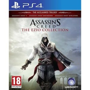 Playstation 4 Ps4 Assassins Creed The Ezio Collection Peli