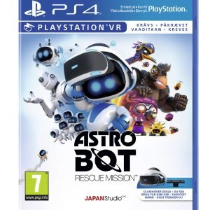 Playstation 4 Ps4 Astro Bot: Rescue Mission Vr Peli