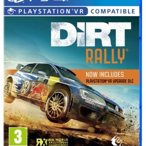 Playstation 4 Ps4 Dirt Rally Vr Peli