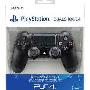 Playstation 4 Ps4 Dualshock 4 Peliohjain Musta