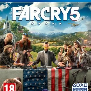 Playstation 4 Ps4 Far Cry 5 Peli