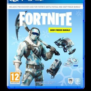 Playstation 4 Ps4 Fortnite Deep Freeze Bundle Peli