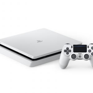 Playstation 4 Ps4 Glacier White 500 Gb Pelikonsoli