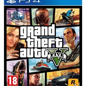 Playstation 4 Ps4 Grand Theft Auto V Peli