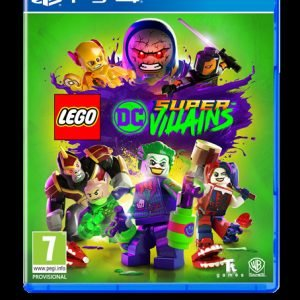 Playstation 4 Ps4 Lego Dc Super Villains Peli