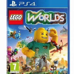 Playstation 4 Ps4 Lego Worlds Peli