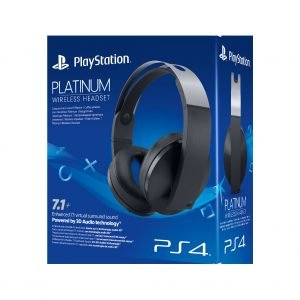 Playstation 4 Ps4 Platinum Wireless Headset Pelikuulokkeet