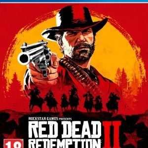 Playstation 4 Ps4 Red Dead Redemption 2 Peli