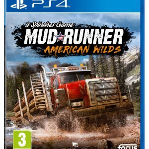 Playstation 4 Ps4 Spintires: Mudrunner American Wilds Edition Peli