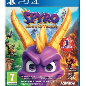 Playstation 4 Ps4 Spyro Reignited Trilogy Peli